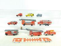 BH733-0,5# Konvolut H0/1:87 Feuerwehr; Roco,Preiser;Praline, Wiking, Brekina