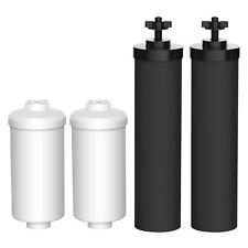 Black Berkey & Berkey Fluoride Filters Compatible Replacement by AQUACREST 2pk