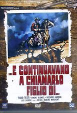 E CONTINUAVANO A CHIAMARLO FIGLIO DI...(1996) con Fabio Testi - DVD NUOVO
