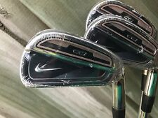 NEW NIKE CCI IRON SET 4-PW 7 IRONS STIFF FLEX STEEL SHAFTS RH