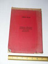Order Book, American Radiator & Standard Sanitary, Vintage patina paper,