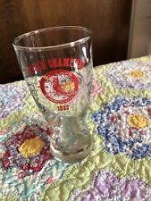 1982 St Louis Cardinals World Champions Beer Dring Glass