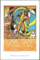 POSTCARD - GIOCHI OLIMPICI OLIMPIADI OLYMPIC GAMES STOCKHOLM STOCCOLMA 1912