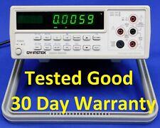 GW Instek GDM 8245 Dual Display Digital Multimeter 50000 Count 20A 1200V GDM8245