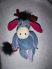 "Disney Reindeer Eeyore 10"" Eden Plush Soft Toy Stuffed Animal"