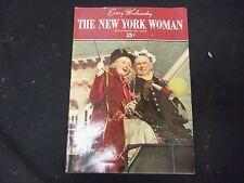 1936 DEC 30 THE NEW YORK WOMAN MAGAZINE - VOLUME 1, NUMBER 17 - ST 3809
