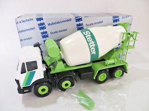 CONRAD 3064 'STETTER-MERCEDES CEMENT MIXER LORRY. 1:50 VINTAGE. MIB/BOXED