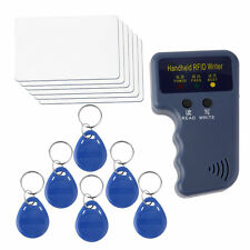 Handheld RFID ID Card Copier/ Reader/Writer 6 Writable Tags/6 Cards Better MC