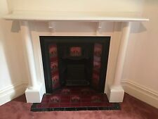 Fireplace Mantle Mantel Edwardian Antique Cast iron