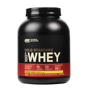 Optimum Nutrition - Gold Standard 100% Whey Protein Powder 5 lbs US