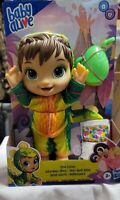 Baby Alive DINO CUTIES DOLL Drinks Wets Diaper Sippy Cup