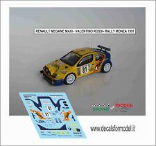 1/43 Renault Megane Maxi Rally Monza 1997 Valentino Rossi Kit