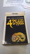 4 PEZZI DI GIADA, Eric Van Lustbader, BUR Rizzoli 1989 tascabile