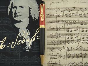 MONTBLANC Donation Pen Johann Sebastian Bach 6641/8000 Ballpoint Pen Year 2001