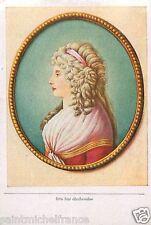 Charlotte von Stein Hofdame GERMANY DEUTSCHLAND CARD IMAGE 1933