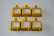 6 peices of Roomba Hepa filters For irobot Roomba 700 series