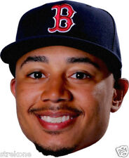 MOOKIE BETTS Young Boston Red Sox Star BIG HEAD - Window Cling Sticker Decal NEW
