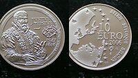BELGIUM / 10 EURO - 2006 / JUSTUS LIPSIUS /  SILVER COIN