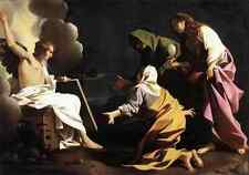 Schedoni Bartolomeo The Two Marys At The Tomb A4 Print