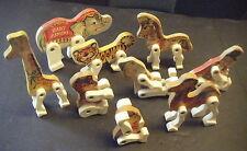 9 Fisher Price Vintage Animals Set 900/902/904