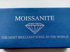 Stunnig 1 Carat Charles And Colvard Mossanite 9ct Gold Ring P.5