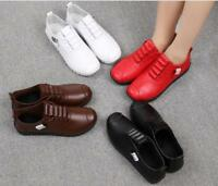 New Womens Comfy Flat Soft Shoes Spring Mother Non-slip Breathable Shoes Sbox14