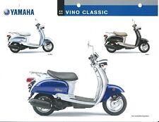 Scooter Data Sheet - Yamaha - Vino Classic - 2005 (DC518)