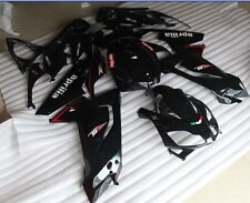 CARENE ABS APRILIA RS 125 07/08/09/10 DESIGN TOTAL BLACK NUOVE FAIRING NUOVE