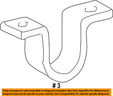 FORD OEM F-250 Super Duty Stabilizer Sway Bar-Front-Bracket Mount F81Z5486DA