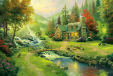 1000 piece Bridge River Home Jigsaw Puzzle Intelligence Educational Toy Gift