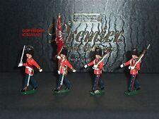 Charles biggs premier 9902 coldstream guards couleur parti metal toy soldier set