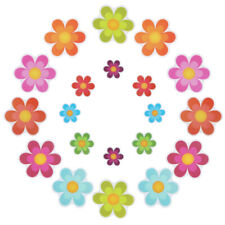 Bathtub Stickers Non-Slip Safety Shower Treads Adhesive Bright Flowers Appliques