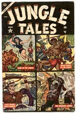 Jungle Tales #3 1955- Atlas comics- Jann of the Jungle- Maneely FN