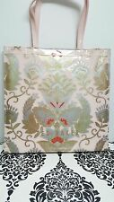 TED BAKER Ladies Tote Bag LARGE N/Pink Handbag SOFICON Orient Icon Pvc Bags BNWT