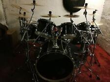 Schlagzeug Tama Superstar Black Kompl.Set incl. Becken-Hardware-Zubehör, Gebr