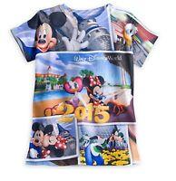 Disney Parks Authentic Disney World Minnie Mouse Friends Girls T Shirt S M L XL
