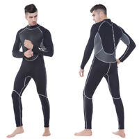 3MM Neoprene Wetsuit One-Piece Full body For Men Scuba Diving Surfing Snorkeling