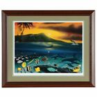 """Framed Wyland """"DAWN OF LIFE"""" Hand Signed and Numbered Lithograph 662/750."""