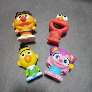 4X Fisher Price Little People Sesame Street Workshop Bert & Ernie & Abby & Elmo