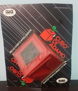 CUBO DI ADAMO GIG ROMPICAPO NEW no cubo di Rubik Vintage 70 80 Giocattolo Rosso