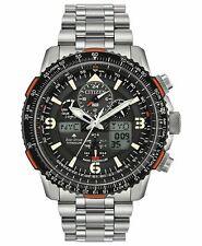Citizen Men's Titanium Skyhawk Eco-Drive Atomic Time Keeping Watch E35-8018YJ
