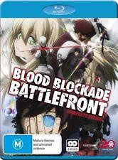 Blood Blockade Battlefront Complete Series NEW B Region Blu Ray