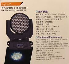 36 Wash Moving Head Light-SHENZHEN YUANZHI