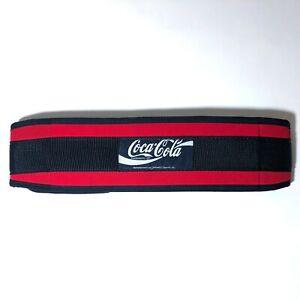 Rare Coca Cola Schiek Weightlifting Belt 2004 - Red & Black Nylon