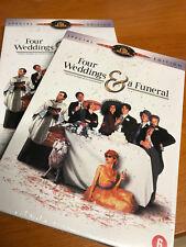 FOUR WEDDINGS AND A FUNERAL  4 MARIAGES ET UN ENTERREMENT  2 DISC DVD SET sealed