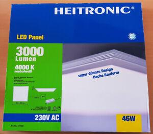 Heitronic LED Panel 3000 Lumen, 4000 K, 230 V AC,