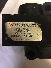 David Brown Hydraulique Valve-BFR07X28