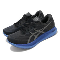 Asics GlideRide Black Blue Guidesole Mens Road Running Shoes 1011A817-003