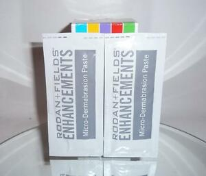 Rodan + and Fields Enhancements Microdermabrasion Paste 2 Packets Exfoliator