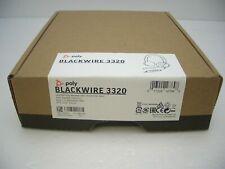 缤特力 blackwire c325.1 立体声黑色头带 USB 个人电脑耳麦带手提箱